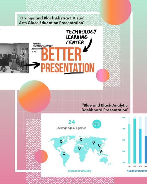Spice up your presentations with Canva! You can access Canva for free at Canva.com. You can also export your presentations to PowerPoint or Google Slides for easy sharing and presenting. #TLCTips
