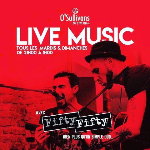Ola!  🤩 Bouquet final #friday #saturday #sunday avec FIFTY /FIFTY. @jondumusic  19h-21h #livemusic #liveconcert !  #weekend musical dans votre #irishpub favori de #pigalle 🎶  #beer #drinks #food #friends #bar