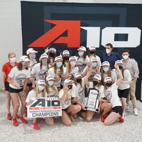 𝐒𝐢𝐱𝐭𝐞𝐞𝐧 𝐓𝐢𝐦𝐞 𝐀-𝟏𝟎 𝐂𝐡𝐚𝐦𝐩𝐬! 🏆  Congratulations to @spiderswimdive on taking home the 2021 @atlantic10 championship!  #OneRichmond