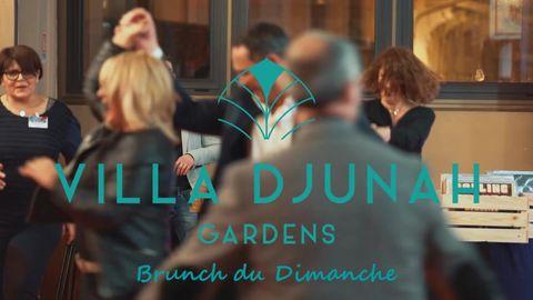 𝗖𝗲 𝗗𝗶𝗺𝗮𝗻𝗰𝗵𝗲 𝐚𝐮 𝐛𝐫𝐮𝐧𝐜𝐡...   𝘿𝙅 𝙈4𝙏 𝙚𝙩 𝙇𝙚 𝘾𝙤𝙞𝙣 𝙑𝙞𝙣𝙮𝙡𝙚𝙨..  à la Villa Djunah...  Buffet brunch à volonté 12h-15 !