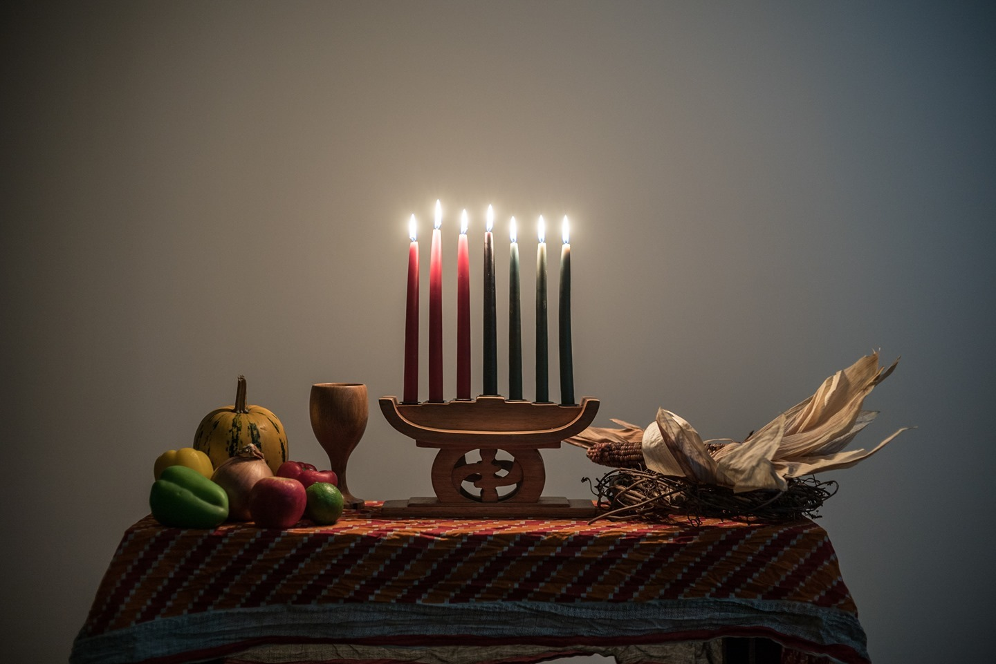 Today marks the first day of Kwanzaa. Wishing our #Spiders unity and good tidings throughout the coming week.