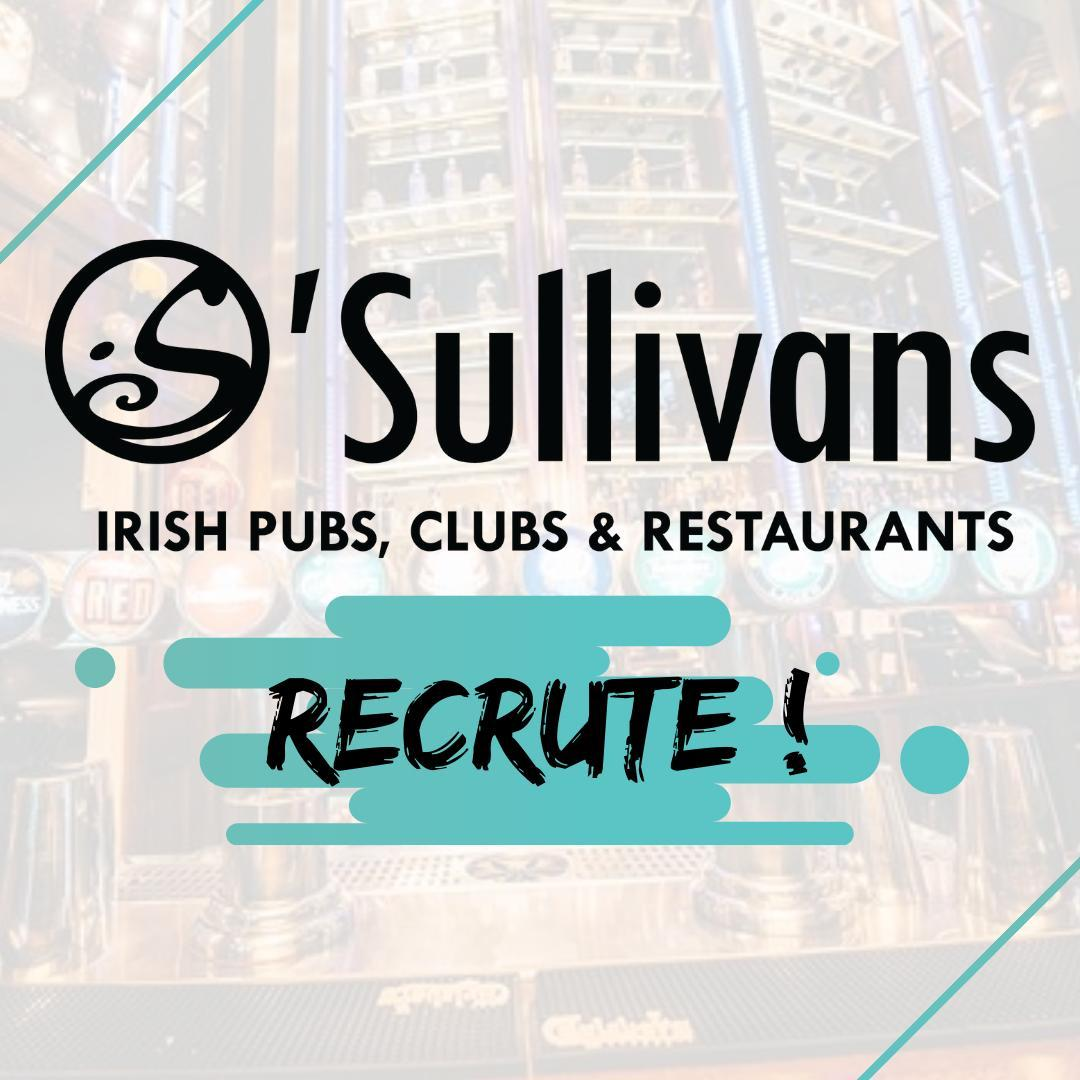 ⚠️ #osullivans recrute dans nos #bars parisiens !⠀ Envie de rejoindre la famille O'Sullivans ? ⠀ ⠀ Cuisine : Chef cuisinier, sous-chef, chef de partie, commis de cuisine⠀ Bar/Salle : Manager, Chef de rang, barman, serveur, commis de salle⠀ ⠀ 👉 #joinus⠀ ⠀ ◾️ Envoyez votre candidature par mail / dollie@osullivans-pubs.com