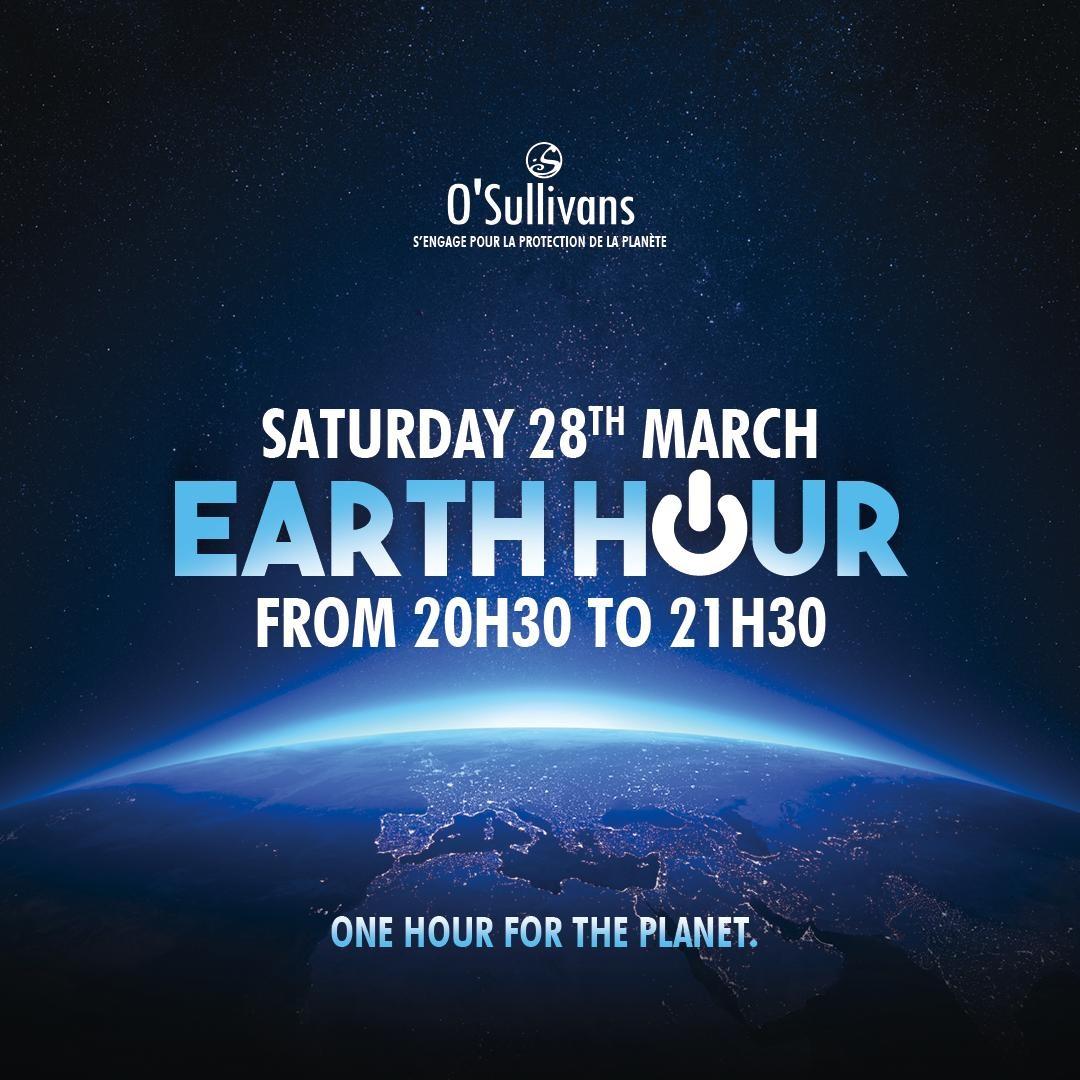 #earthhour 🌎  Profitez du confinement pour faire une belle action #WWF . .