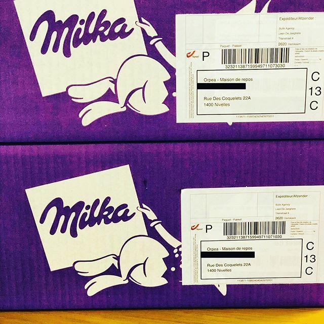 Ready for shipment to retirement homes #keepthemilkamagicalive #butikcando #butikagency