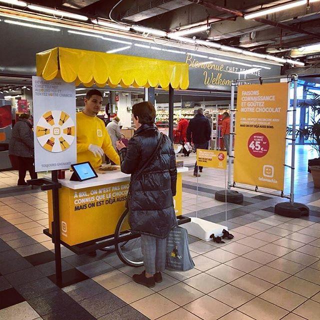 @cubzzkids chocolade voor de Brusselaars … #butikagency