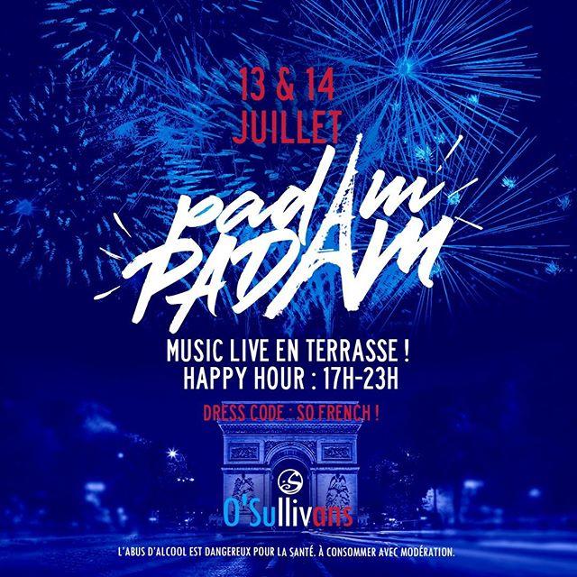 LIBERTÉ! 🙌 DANSEZ! 💃 FÊTEZ! 🥳⠀ ⠀ 🎉 Fêtez chez nous la fête nationale ! 🎉⠀ 🇫🇷On se donne rendez vous au O'Sullivans Grands Boulevards !🇫🇷⠀ ⠀ - - ⠀ 💃 DANCE like no one is watching! 🕺⠀ ⠀ 🇫🇷Celebrate France's National Day with O'Sullivans at Grands Boulevards on July 13th and July 14th! 🎉⠀ 🎵 Live Music! 🎶⠀ Dress Code - So French! 🧑🎨🧣🥖⠀ ⠀ #osullivans #osgb #grandsboulevrads #bar #pub #irishpub #fete #fetenationale #juillet14 #celebrate #mondaymotivation